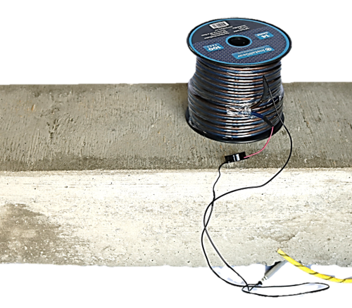 Simulated Curb with 105mm and Command Wire