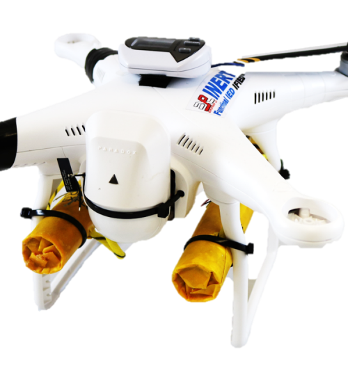 VO crashed drone w/ WIFI option